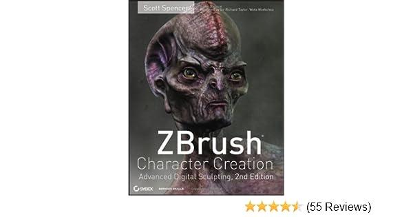 Amazon com: ZBrush Character Creation: Advanced Digital Sculpting