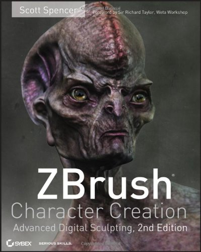[PDF] ZBrush Character Creation: Advanced Digital Sculpting Free Download | Publisher : Sybex | Category : Computers & Internet | ISBN 10 : 0470572574 | ISBN 13 : 9780470572573
