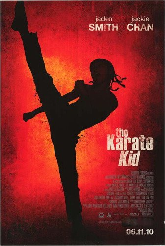 The Karate Kid Double-Sided Regular 27X40 Jaden Smith Jackie Chan Poster