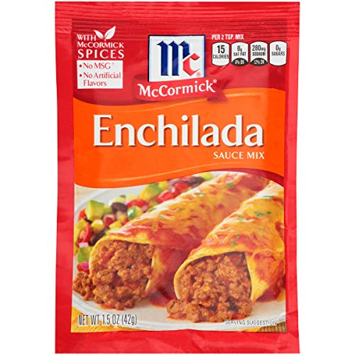 McCormick Enchilada Sauce Mix, 1.5 OZ (Pack of 12)