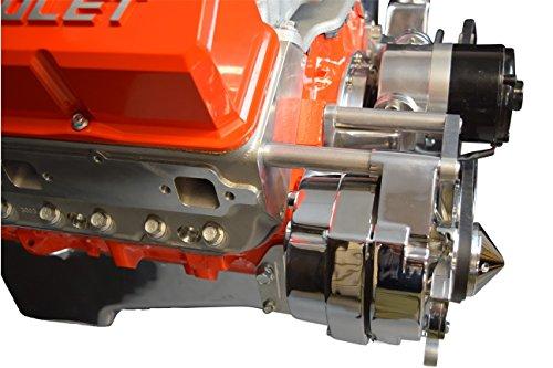 SBC Alternator Bracket Adjustable Electric Water Pump Small