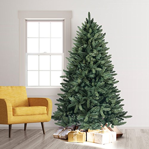 Treetopia Balsam Spruce Artificial Christmas Tree 7ft & Stand (Large Image)