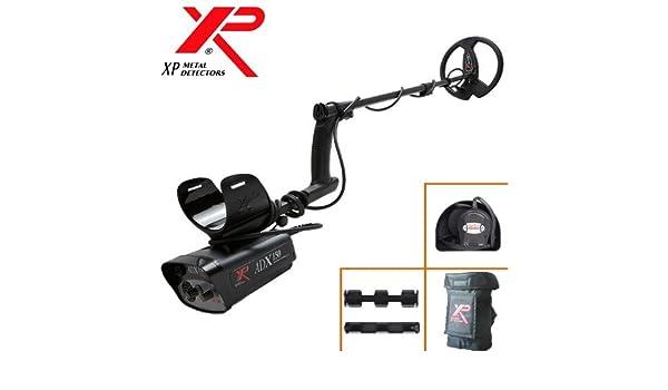 Metal Detectors Xp-Detector De metales Adx 150-frecuencia 4,6 Khz. disco 22,5 Cm, incluye protector para disco duro Dd-ajustes por Potentiometres ...