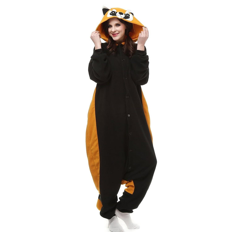 Maricopyjam Adult Anime Raccoons Christmas Home Clothing Style Pajamas Costume