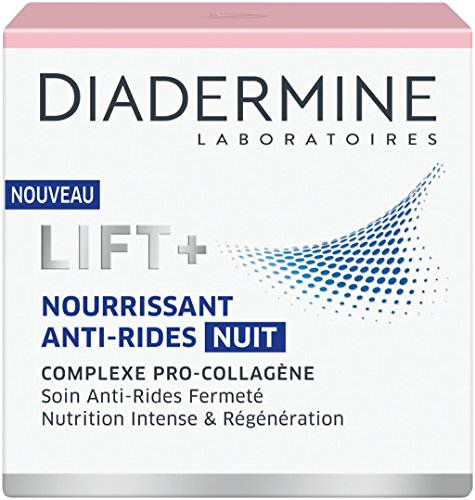 Diadermine LIFT+ Nutrition Regenerating Anti-Wrinkle Night Cream with Pro-Collagen & Pro-Lipids 50ml by Diadermine