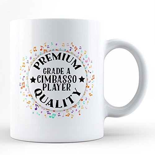 Cimbasso Instruments - Cimbasso Player Music Hobby Passion White Coffee Mug By HOM Best Cimbasso Instrument Player Affordable Gift