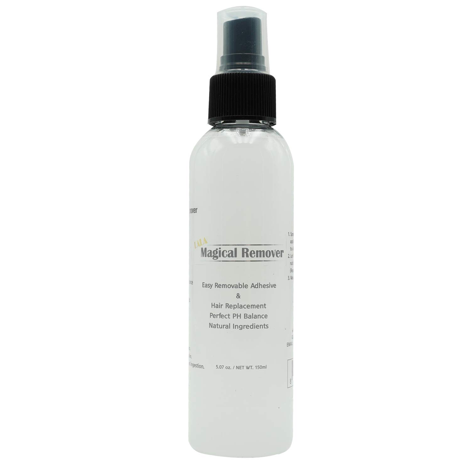 MAGICAL REMOVER 5.07oz Wig and Hair extension adhesive remover. Easy Removal