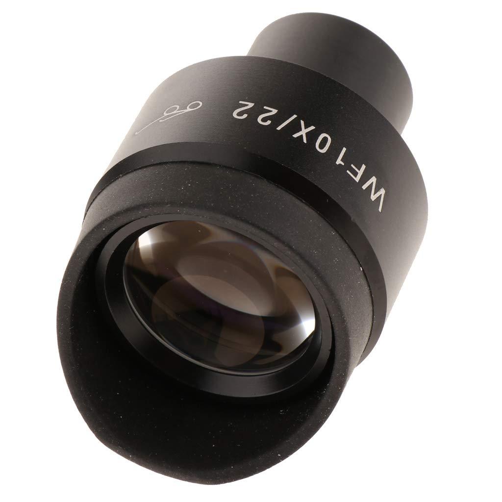 10X Biologic Microscope Eyepiece W//Eyeshield 23.2mm High Refractive Optics
