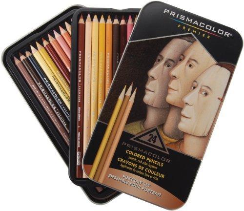 Brand New Prismacolor Premier Colored Pencils 24/Pkg-Portrait Brand -