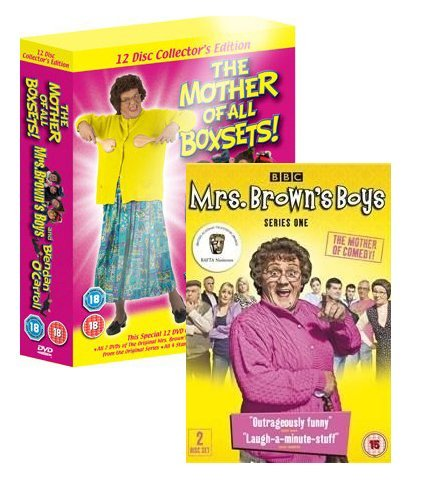 Price comparison product image Mrs Brown's Boys - Mother of All Boxsets & BBC Series 1 (Region 2 Encoding (This DVD Will Not Play on Most DVD Players Sold in the Us or Canada [Region 1]. This Item Requires a Region Specific or Multi-region DVD Player and Compatible Tv.)