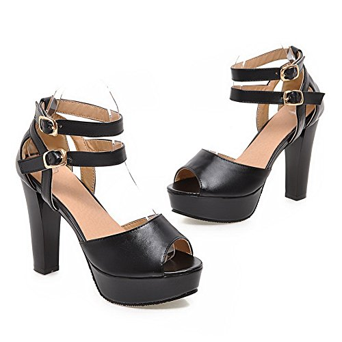Eu Slc01574 Pour Sandales Noir Adeesu Femme 34 qWpXRHYw
