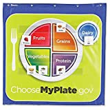 Learning Resources Healthy Helpings MyPlate Pocket Chart