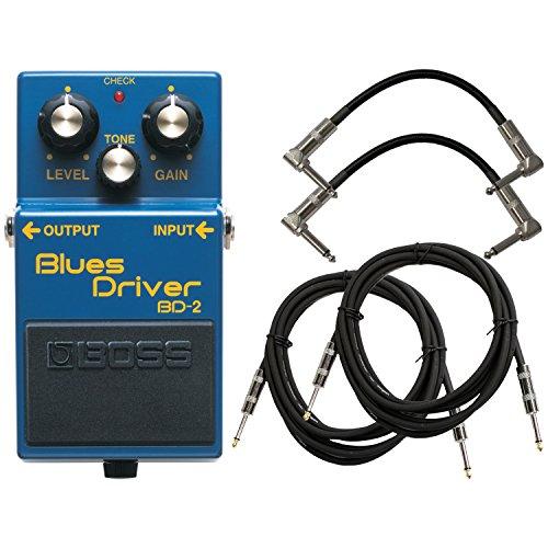 BOSS BD-2 Blues Driver Pedal Bundle w/4 Free (Boss Blues Driver)