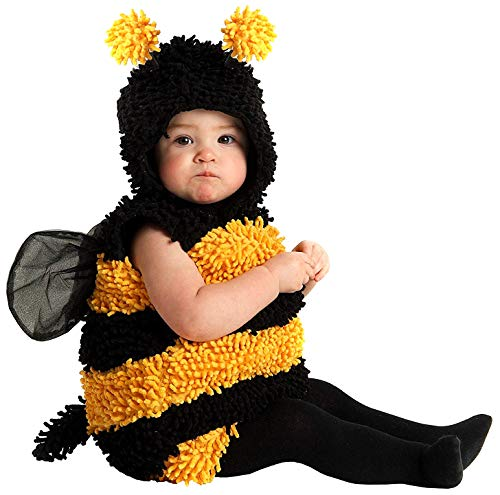 Six Pack Halloween Costume (Princess Paradise Baby's Stinger The Bee Deluxe Costume, As Shown, 6 to 12)