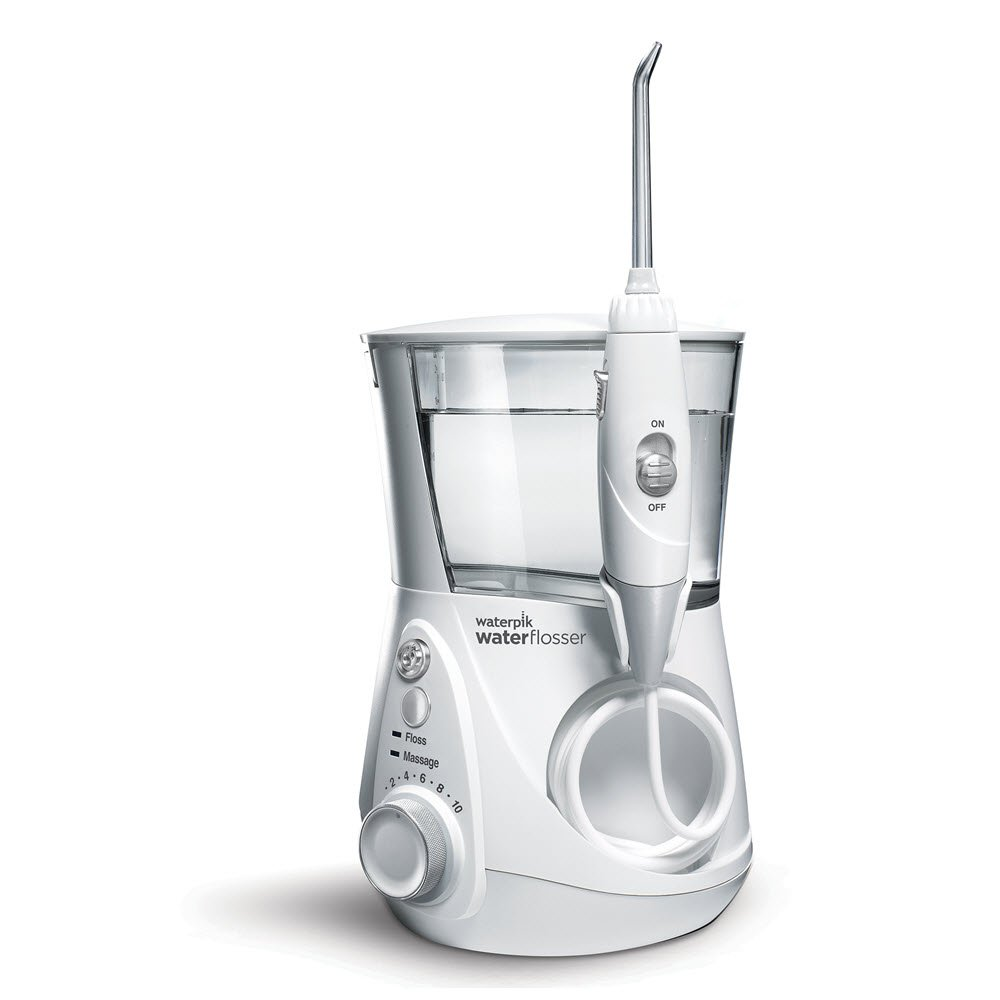 Waterpik Aquarius Professional Water Flosser Designer Series, White, WP-670