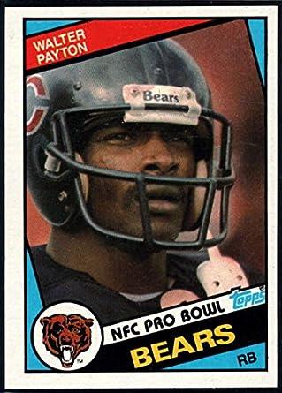 8b3b2a4c431 Amazon.com: Football NFL 1984 Topps #228 Walter Payton Bears ...