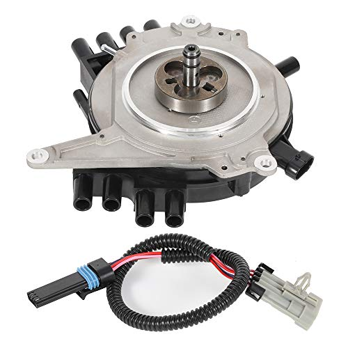 SCITOO New Ignition Distributor Compatible with Buick Roadmaster Cadillac Fleetwood Chevy Camaro/Caprice/Corvette/Impala Pontiac Firebird 1994-1997 DST1833 1104032 19212300