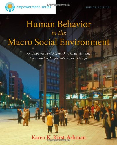 Human Behavior...Macro Social Environ.