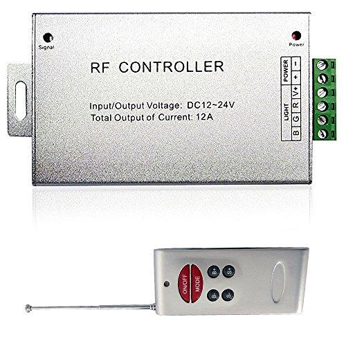 (Genssi Music Sound Sensitive Wireless RGB LED Strip Light Controller 144W)
