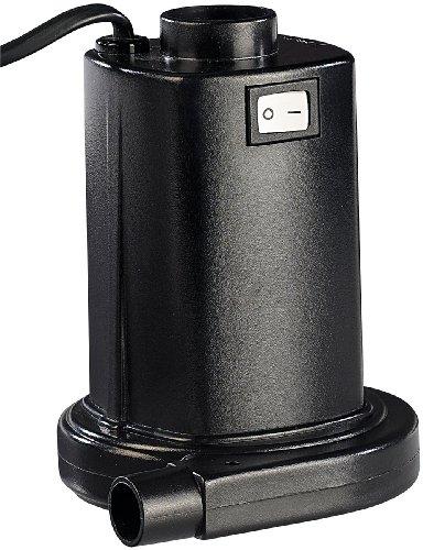 infactory Elektrische Luftpumpe für schnelles Auf- & Abpumpen, 230V Euro-Stecker