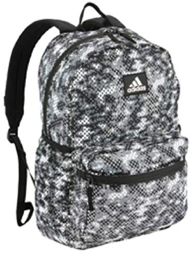 Mesh Backpack - adidas Hermosa Mesh Backpack, Flow Blur Grey/Black, One Size