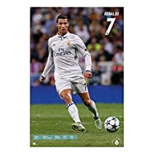 Real Madrid Ronaldo 2016 - 2017 Poster Maxi - 91.5 x 61cms (36 x 24 Inches)