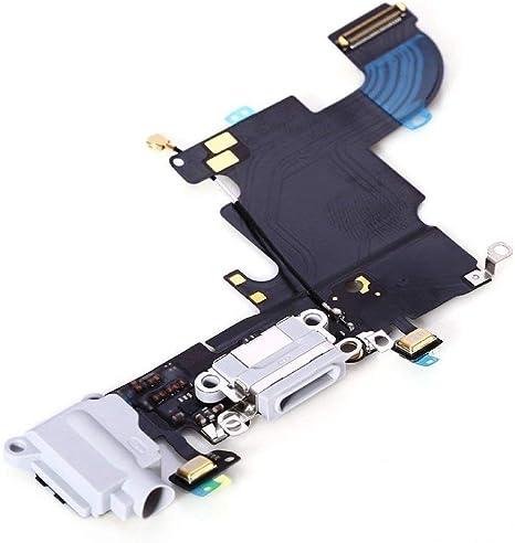 Conector Dock para Cargador de Iphone 6 Plata / Blanco de ...