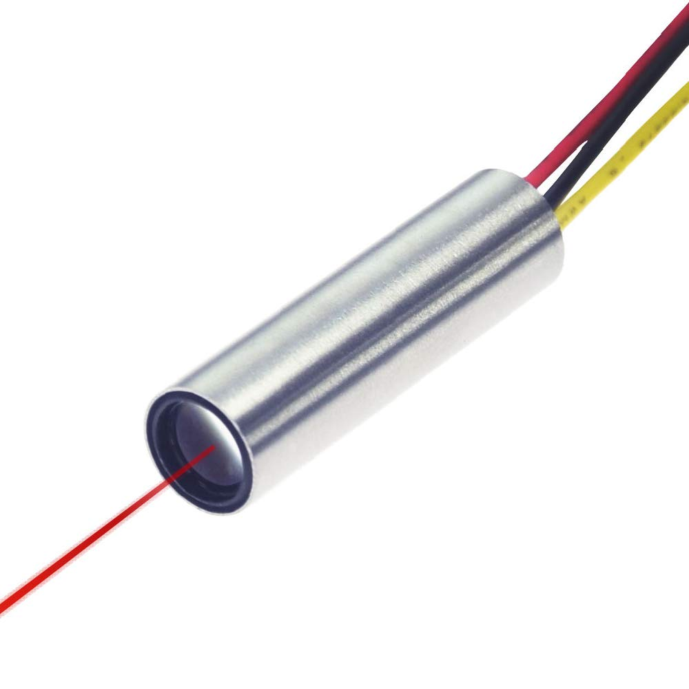 Quarton Laser Module VLM-635-32 LPA (TTL Modulation Red Dot Laser Module)