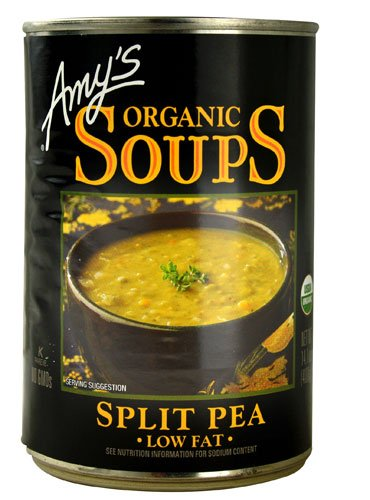 Amy's Organic Soup Low Fat Split Pea -- 14.1 fl oz - 2 pc by Amy's