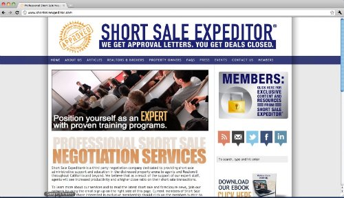 Short Sale Expeditor Tells All
