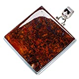 Hungarian Agate 925 Sterling Silver Pend