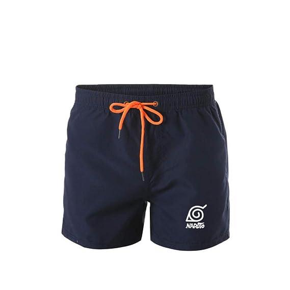 TSHIMEN Pantalones Cortos Hombre Ofertas Naruto Pantalones ...