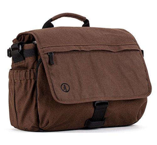 Tamrac Apache 6.2 Shoulder Bag for DSLR and Mirrorless Cameras (Tamrac Brown Strap)