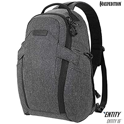 Maxpedition Entity 16 CCW-Enabled EDC SlingPack Charcoal