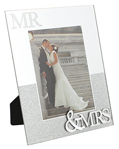mirrored-glass-and-silver-glitter-mr-mrs-picture-frame-by-haysom-interiors