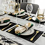 Fall Placemats by Home Brilliant Set of 4 Heat