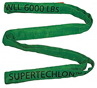 Type 5 Round Sling Color Code: Green Polyester 13 ft 7//8 Diameter Endless