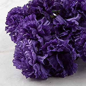 Poly Silk Carnation Bush | 14 Blooms | for Indoor Decor 2