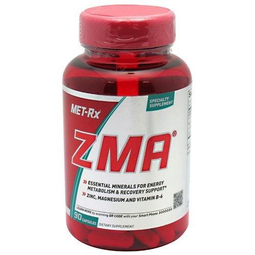 MET-Rx ZMA, 90 Capsules - Capsules Nutrition 90 Zma