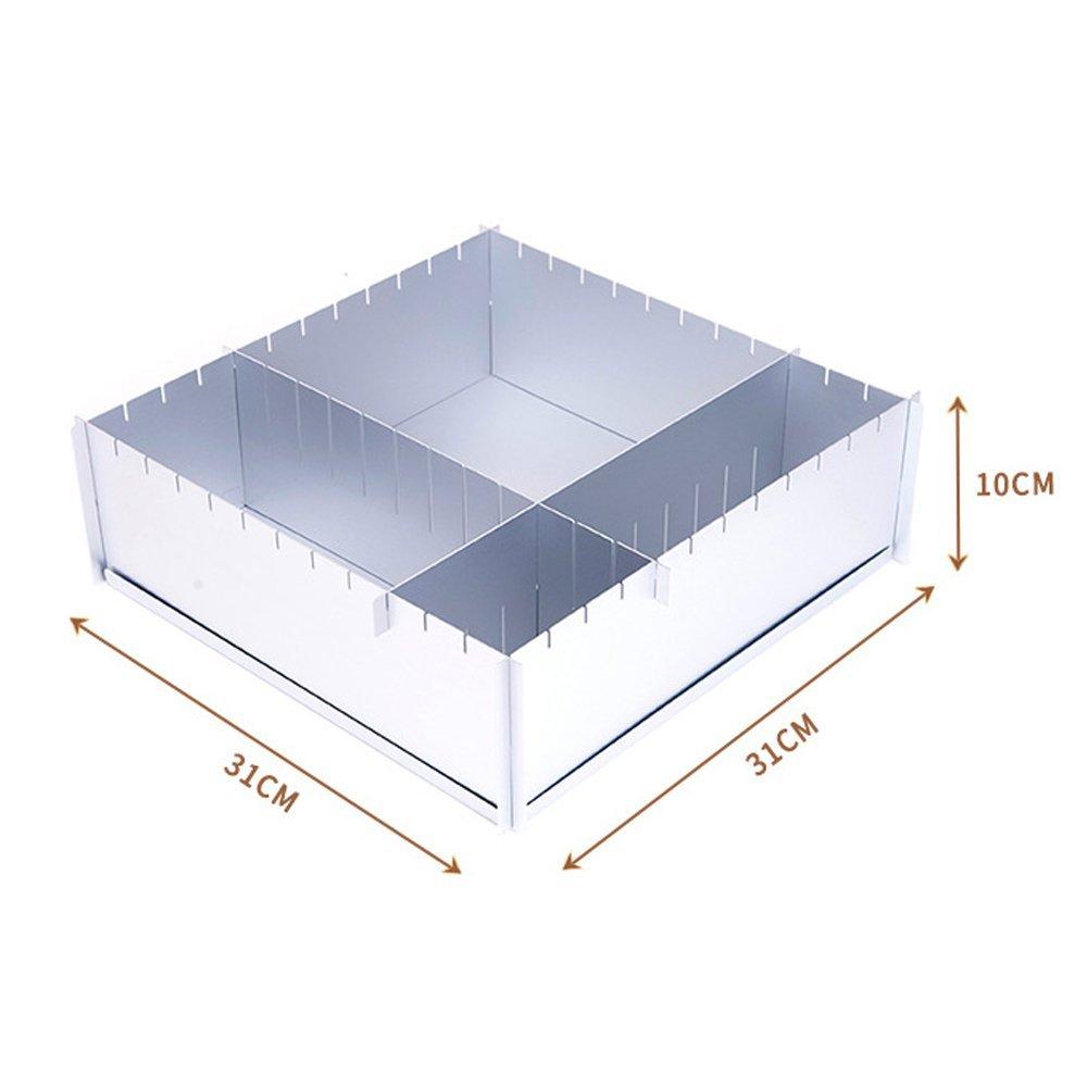 HAIT Cake Baking Aluminum Baking Tray Multifunction Adjustable Square Family Baking Mold