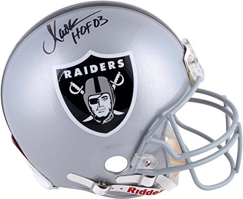 Marcus Allen Oakland Raiders Autographed Riddell Pro-Line Authentic Helmet with HOF 03 Inscription - Fanatics Authentic Certified