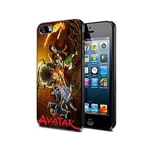 Avatar Avt03 Cartoon Anime Manga Case Cover Protection for iPhone 5c Black Silicone