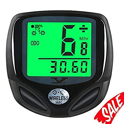 3a7748b0e5a81d Bike Speedometer Waterproof Wireless Bicycle Bike Computer and Cycling  Odometer with Automatic Wake-up Multi