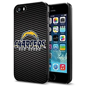 American Football NFL SAN DIEGO CHARGERS Logo,Cool iPhone 5 5s Smartphone Case Cover Collector iphone Black