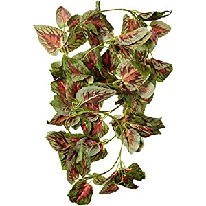 Fluker's 51017 Repta Vine Small Animal Hanging Vine, Red Coleus 21