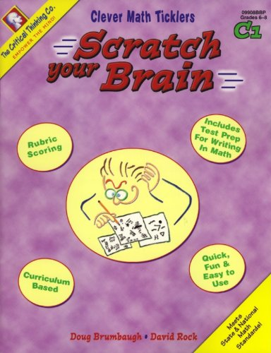 Scratch Your Brain: Book C1, Grades 6-8