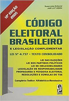 Codigo Eleitoral Brasileiro E Legislação