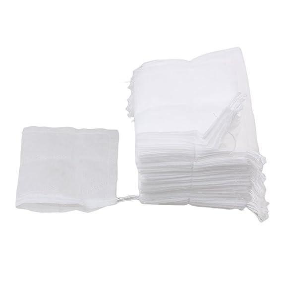 BQLZR desechables Filtro de papel zacate suelta Bolsas de té ...