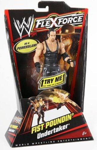 WWE Flexforce Fist Poundin' Undertaker Action Figure by Mattel