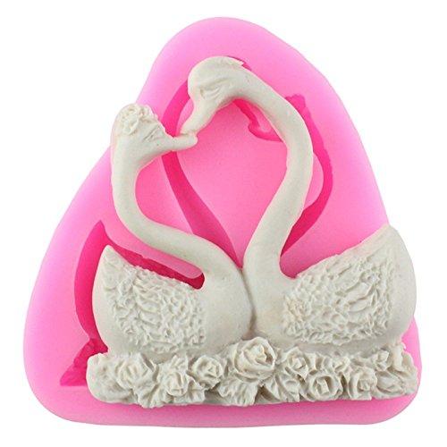 Qinlee Christening Mermaid Silicone Mold Fondant Cupcake Cake Decorating Baking Tools Handmade Soap Mold